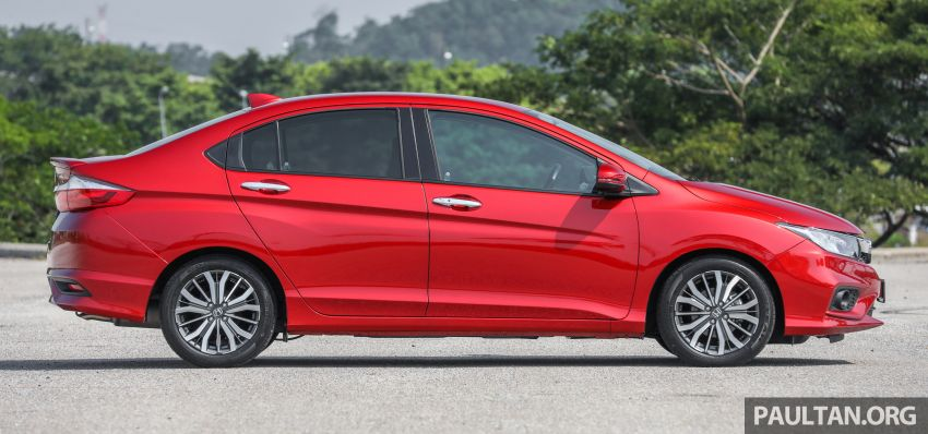 GALLERY: Honda City 1.5L V in Passion Red Pearl Image #983097