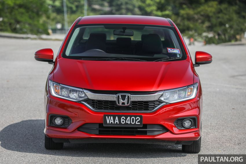 GALLERY: Honda City 1.5L V in Passion Red Pearl Image #983098