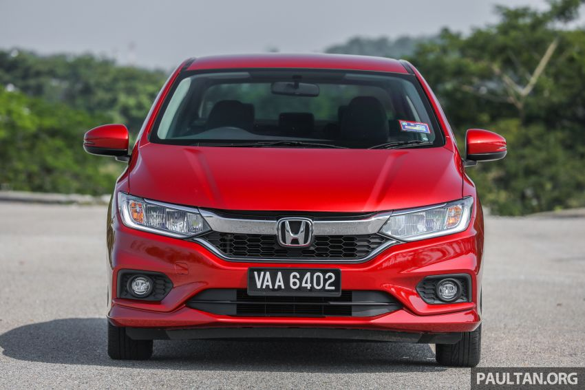 GALLERY: Honda City 1.5L V in Passion Red Pearl Image #983099