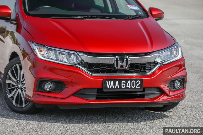 GALLERY: Honda City 1.5L V in Passion Red Pearl Image #983102
