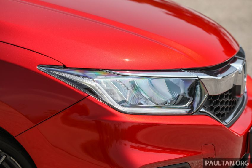 GALLERY: Honda City 1.5L V in Passion Red Pearl Image #983105