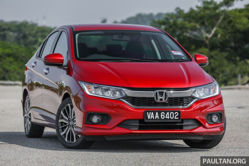 GALLERY: Honda City 1.5L V in Passion Red Pearl Image #983089