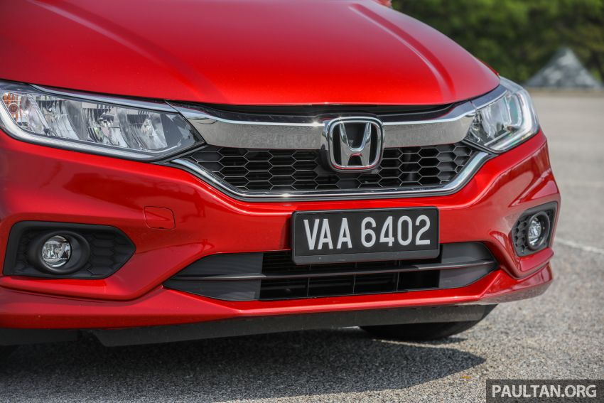 GALLERY: Honda City 1.5L V in Passion Red Pearl Image #983109