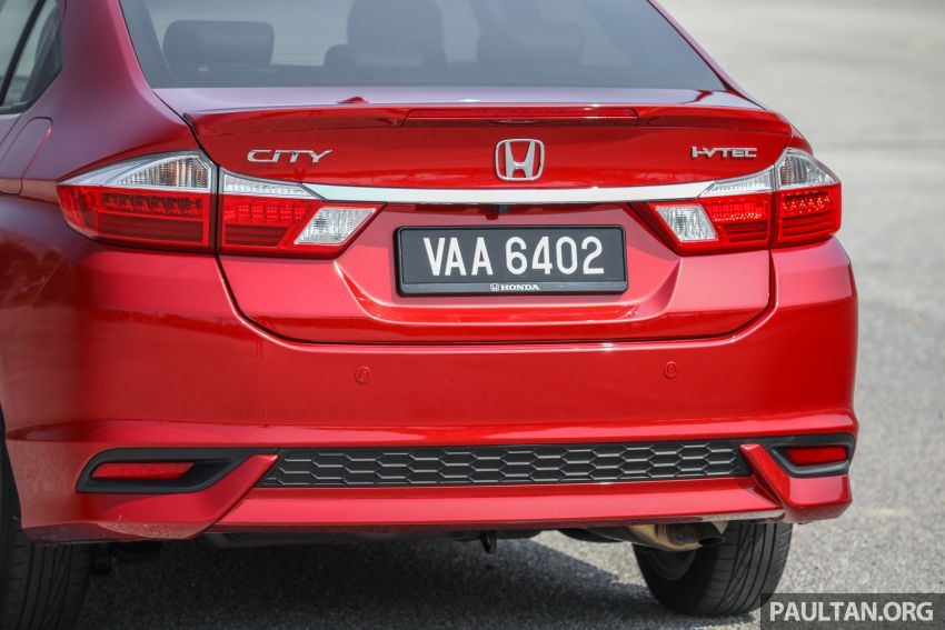 GALLERY: Honda City 1.5L V in Passion Red Pearl Image #983115