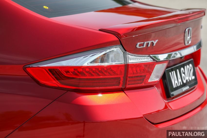 GALLERY: Honda City 1.5L V in Passion Red Pearl Image #983117