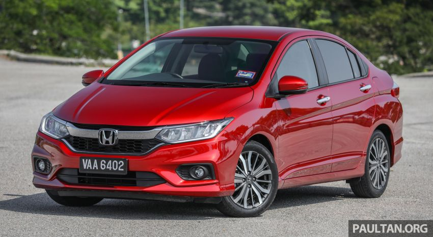 GALLERY: Honda City 1.5L V in Passion Red Pearl Image #983090