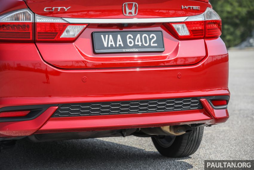 GALLERY: Honda City 1.5L V in Passion Red Pearl Image #983120