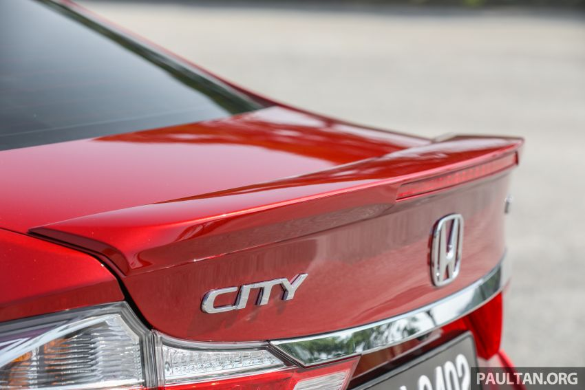 GALLERY: Honda City 1.5L V in Passion Red Pearl Image #983121