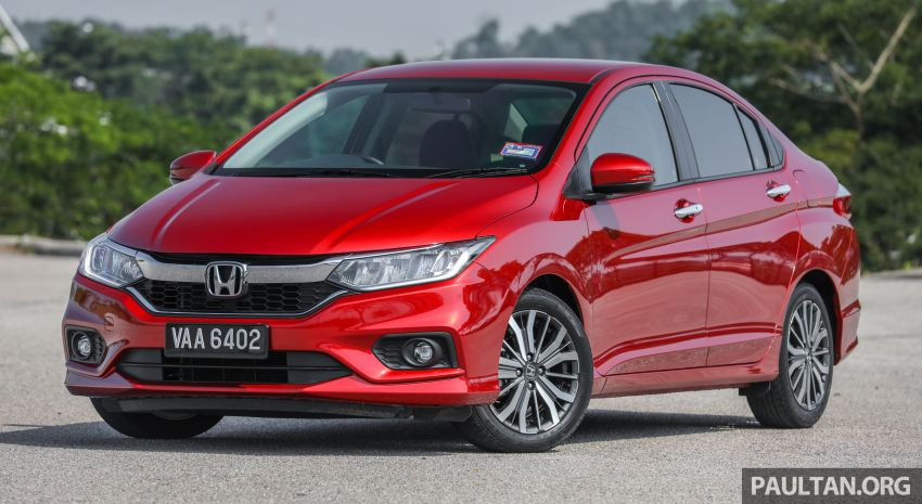 GALLERY: Honda City 1.5L V in Passion Red Pearl Image #983091