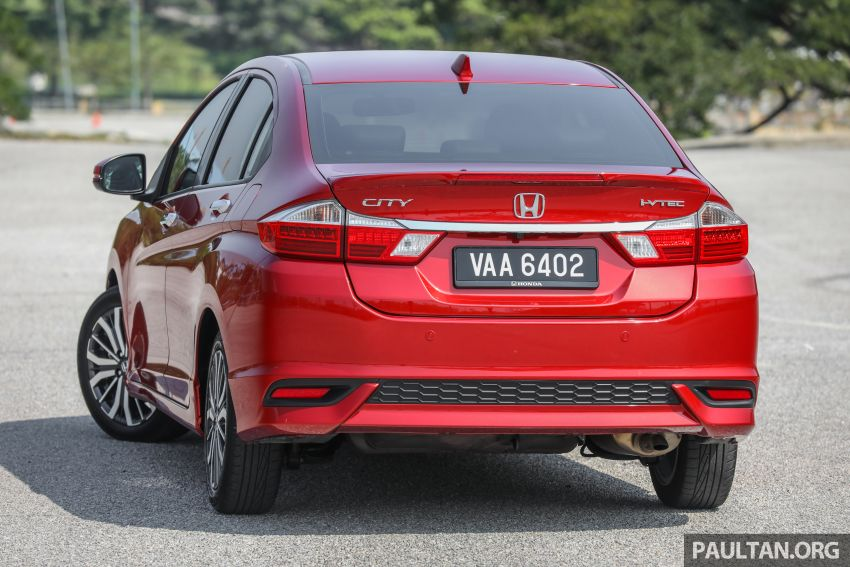 GALLERY: Honda City 1.5L V in Passion Red Pearl Image #983094