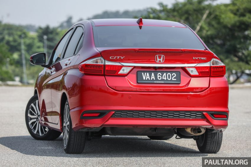GALLERY: Honda City 1.5L V in Passion Red Pearl Image #983095