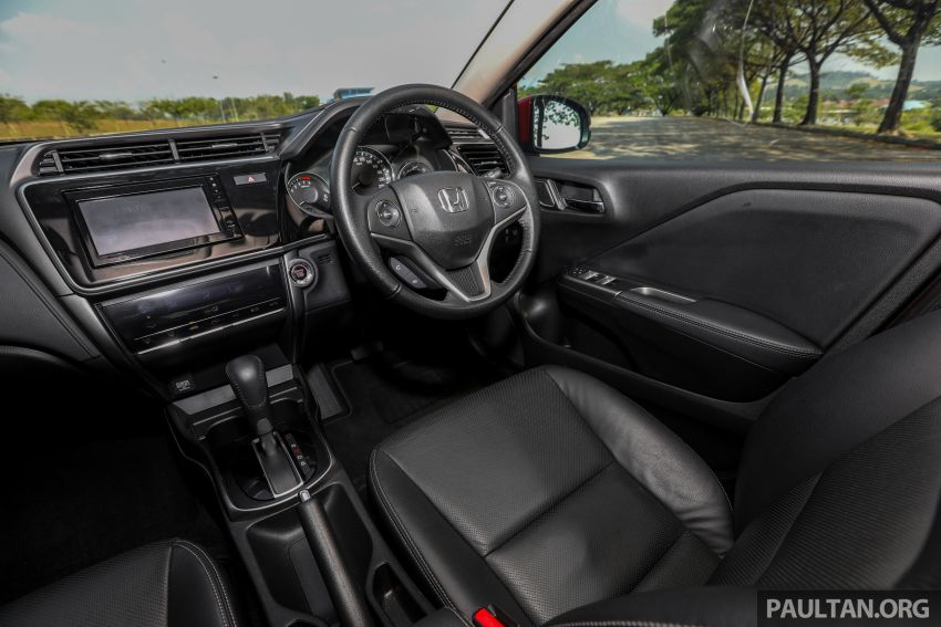 GALLERY: Honda City 1.5L V in Passion Red Pearl Image #983150