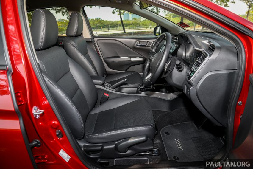 GALLERY: Honda City 1.5L V in Passion Red Pearl Image #983152