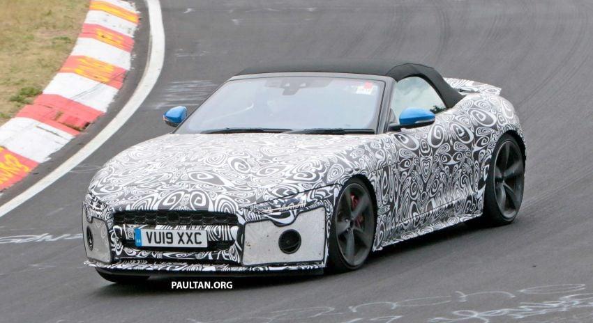 SPYSHOTS: 2020 Jaguar F-Type Coupe, Convertible Image #980884
