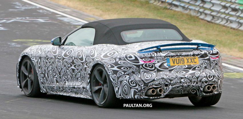SPYSHOTS: 2020 Jaguar F-Type Coupe, Convertible Image #980928