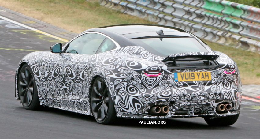 SPYSHOTS: 2020 Jaguar F-Type Coupe, Convertible Image #980865