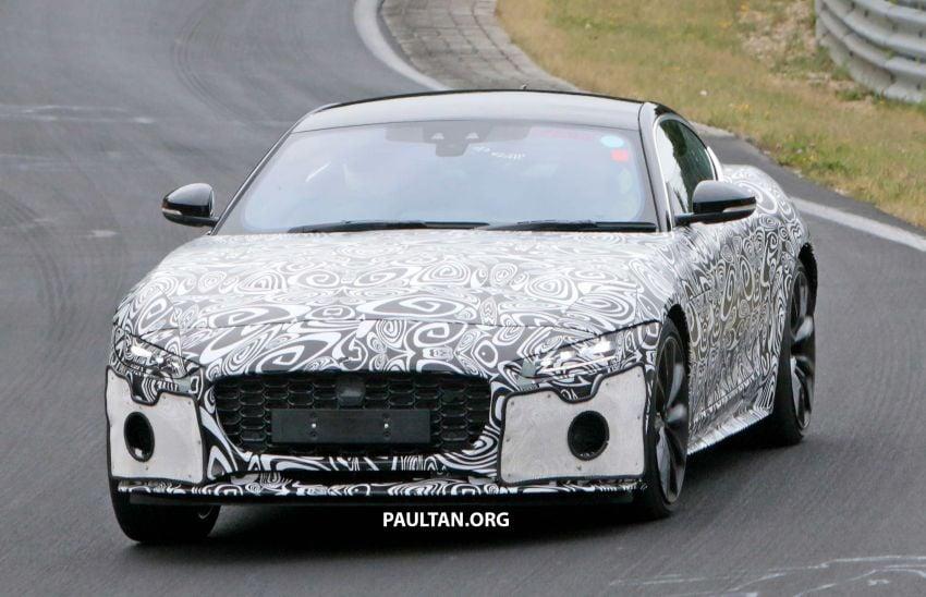 SPYSHOTS: 2020 Jaguar F-Type Coupe, Convertible Image #980850