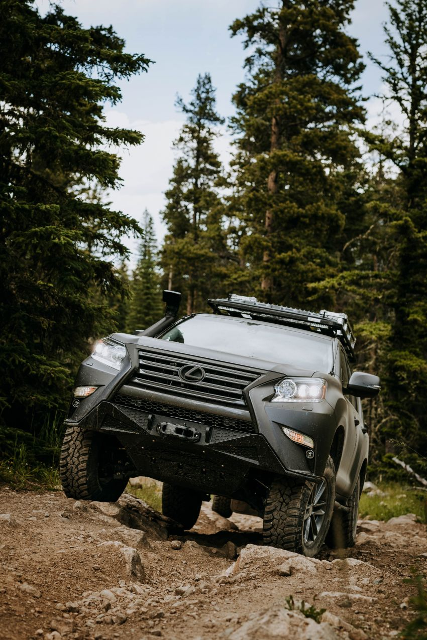 Lexus GXOR Concept debuts – rugged and luxurious Image #989728