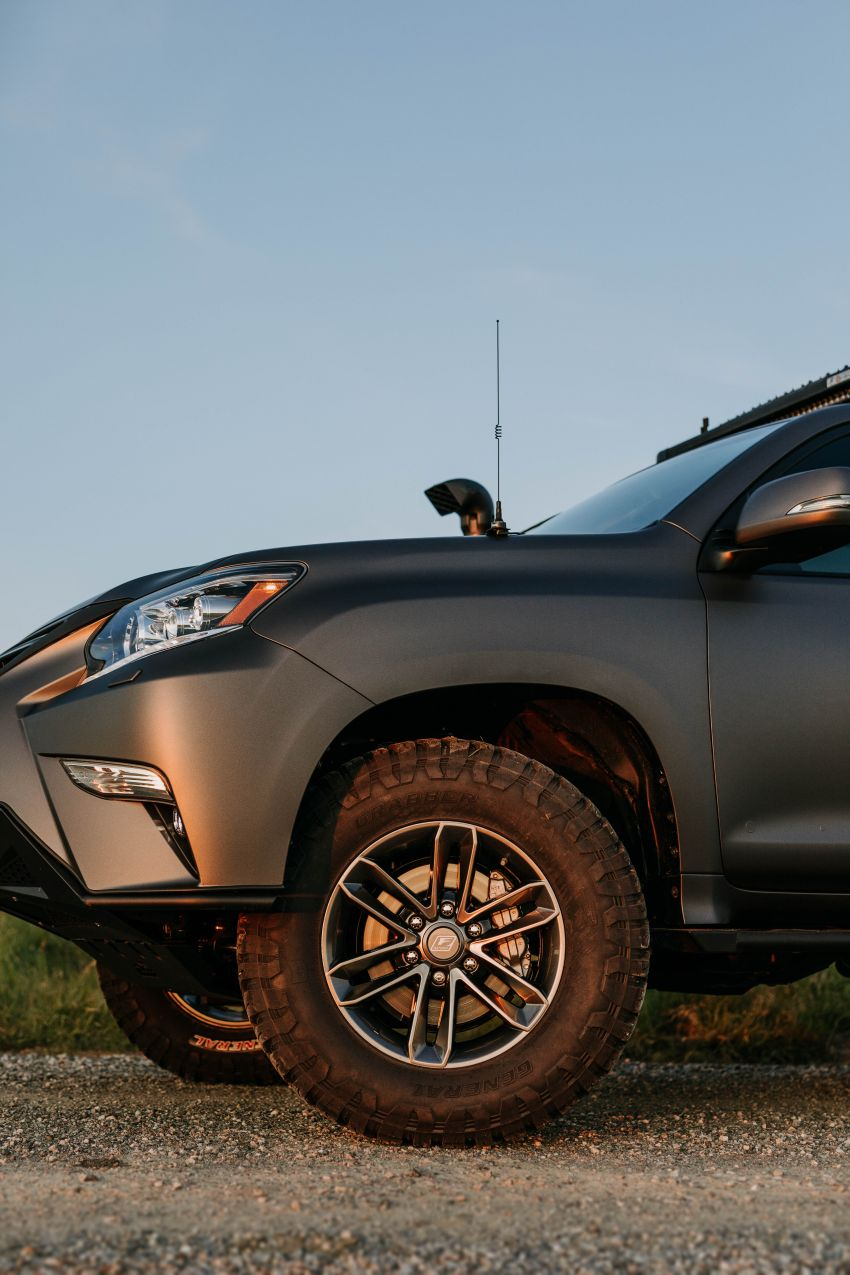 Lexus GXOR Concept debuts – rugged and luxurious Image #989723