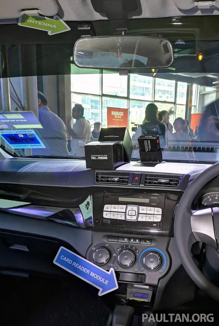 LokaTAG dilancar untuk M'sia – pembaca kad Touch n Go binaan dalam untuk semua jenis kenderaan, RM499 Image #983865