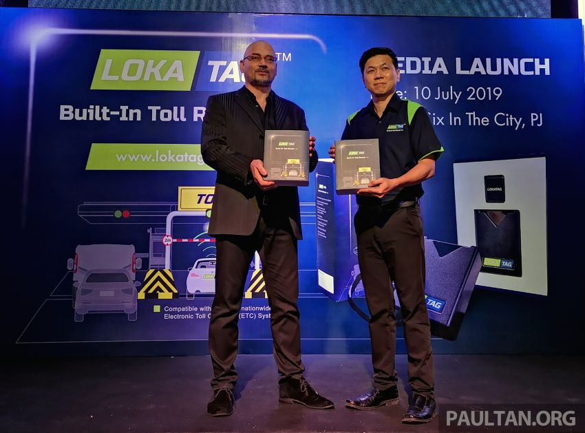 LokaTAG built-in Touch n Go card reader launched – no battery, plugs in to socket, for all cars, RM499 Image #983801