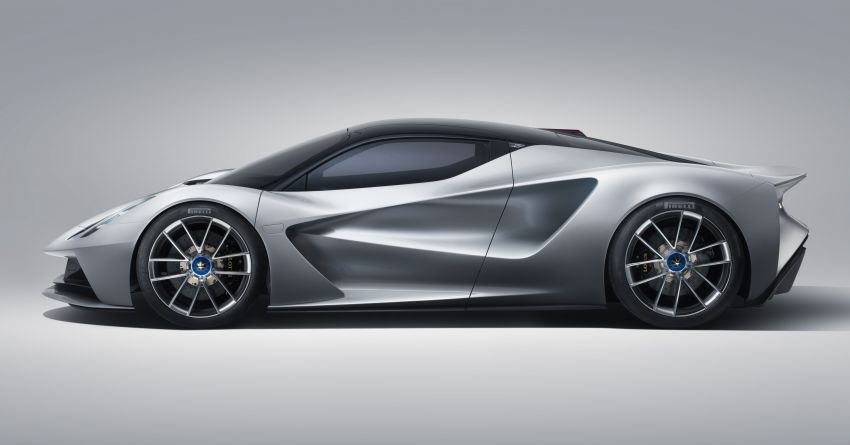 Lotus Evija hypercar debuts – 2,000 PS and 1,700 Nm, electric AWD, 0-300 km/h in less than nine seconds! Image #986718