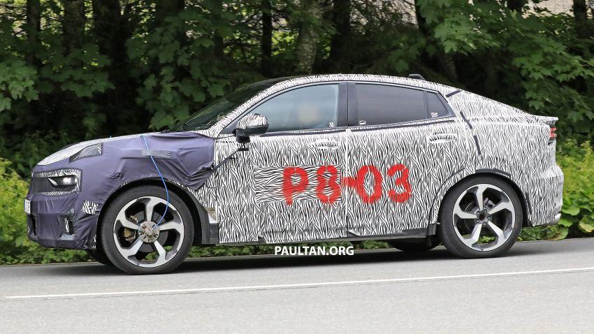 "SPYSHOTS: Lynk & Co 01 SUV ""coupé"" caught testing Image #994637"