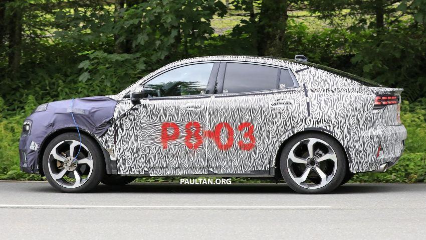 "SPYSHOTS: Lynk & Co 01 SUV ""coupé"" caught testing Image #994639"