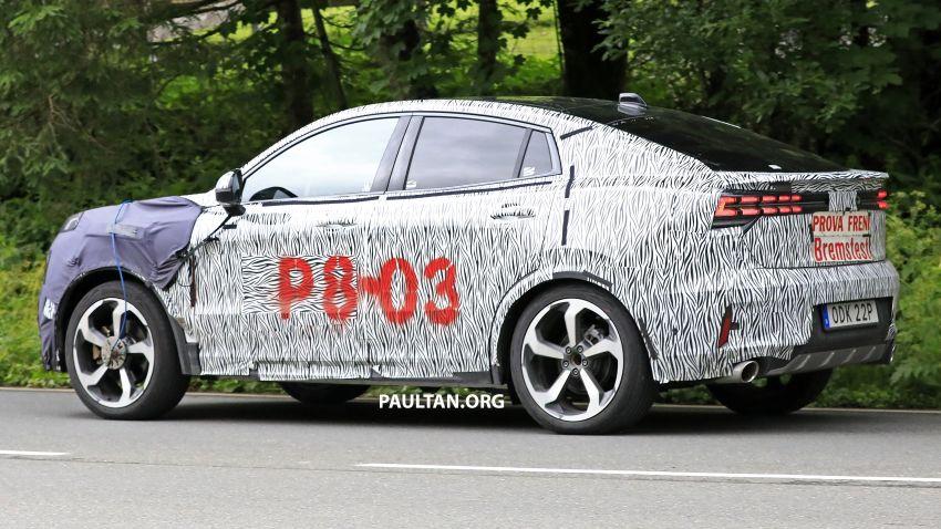 "SPYSHOTS: Lynk & Co 01 SUV ""coupé"" caught testing Image #994640"