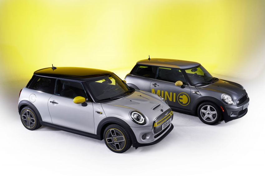MINI Cooper SE debuts – brand's first fully-electric model; 181 hp and 270 Nm; up to 270 km of range Image #983568