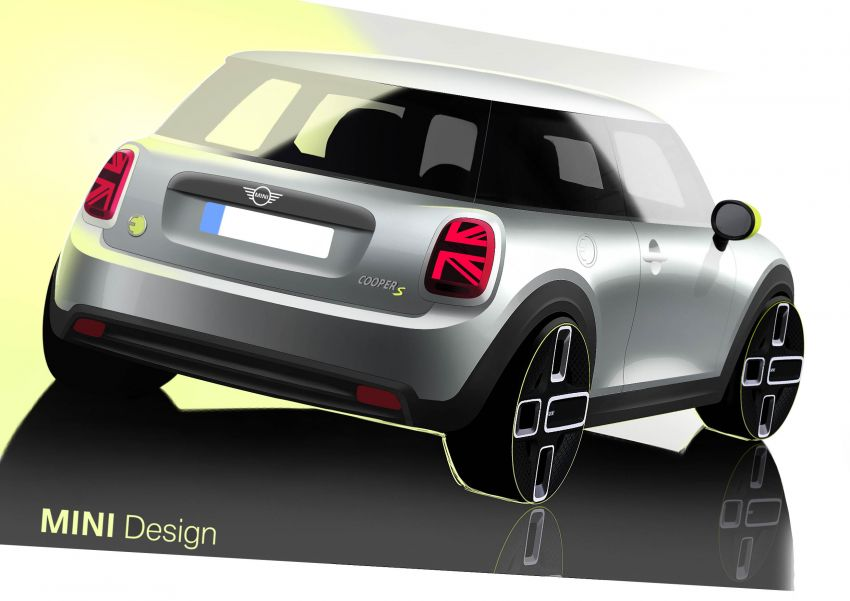 MINI Cooper SE debuts – brand's first fully-electric model; 181 hp and 270 Nm; up to 270 km of range Image #983575