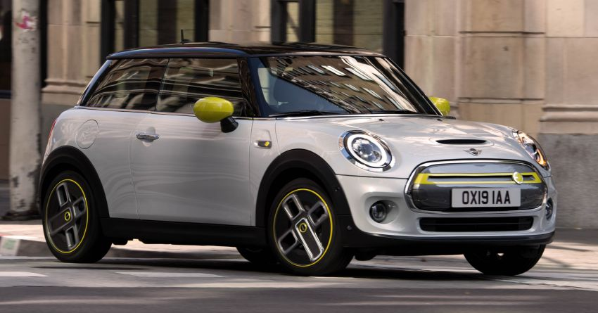 MINI Cooper SE debuts – brand's first fully-electric model; 181 hp and 270 Nm; up to 270 km of range Image #983483