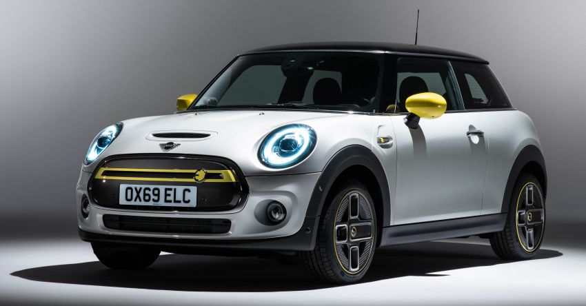 MINI Cooper SE debuts – brand's first fully-electric model; 181 hp and 270 Nm; up to 270 km of range Image #983515