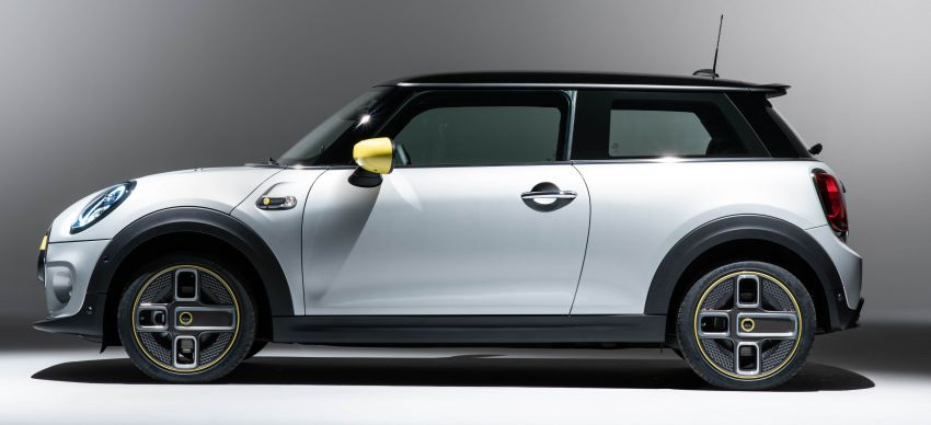 MINI Cooper SE debuts – brand's first fully-electric model; 181 hp and 270 Nm; up to 270 km of range Image #983517