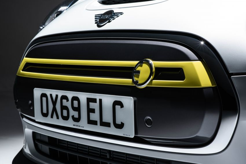 MINI Cooper SE debuts – brand's first fully-electric model; 181 hp and 270 Nm; up to 270 km of range Image #983521