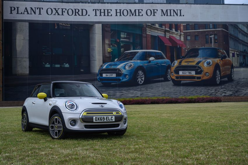 MINI Cooper SE debuts – brand's first fully-electric model; 181 hp and 270 Nm; up to 270 km of range Image #983529