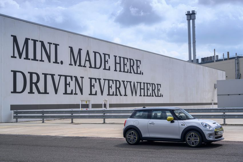 MINI Cooper SE debuts – brand's first fully-electric model; 181 hp and 270 Nm; up to 270 km of range Image #983531