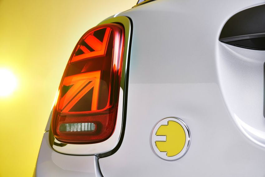 MINI Cooper SE debuts – brand's first fully-electric model; 181 hp and 270 Nm; up to 270 km of range Image #983543