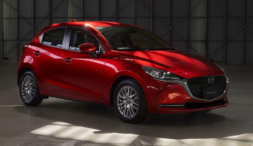 Mazda 2 facelift 2019 didedahkan – wajah baharu iras Mazda 6, ciri pemanduan turut dipertingkatkan Image #987793