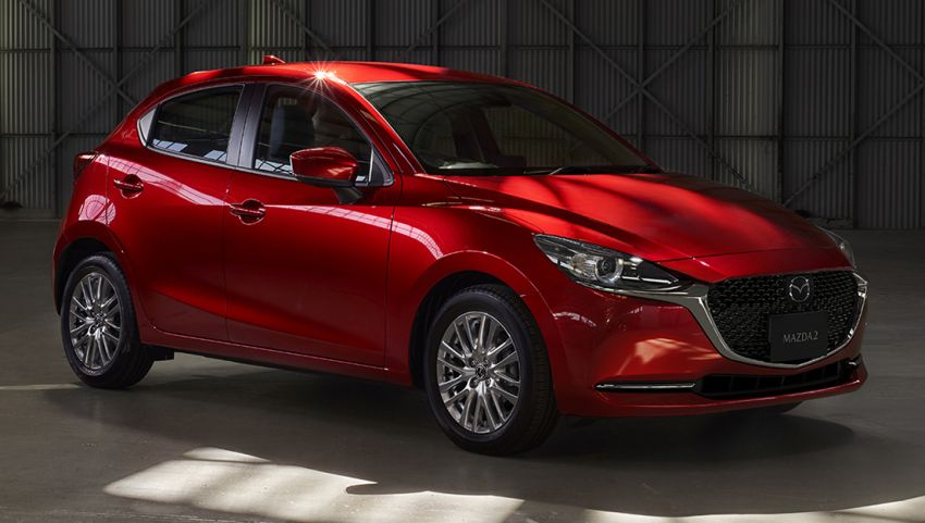 Mazda 2 facelift unveiled – new looks and driver aids Image #987659