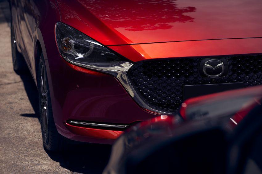 Mazda 2 facelift 2019 didedahkan – wajah baharu iras Mazda 6, ciri pemanduan turut dipertingkatkan Image #987814