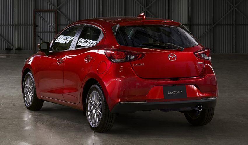 Mazda 2 facelift 2019 didedahkan – wajah baharu iras Mazda 6, ciri pemanduan turut dipertingkatkan Image #987794