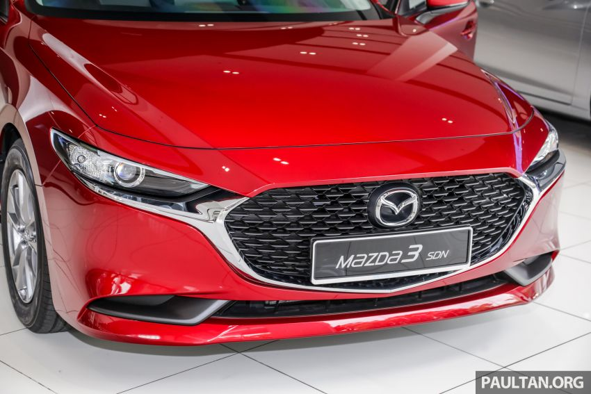 Mazda 3 2019 tiba di bilik pameran Malaysia – 1.5L Sedan dan 2.0L hatchback High Plus, bermula RM140k Image #982219