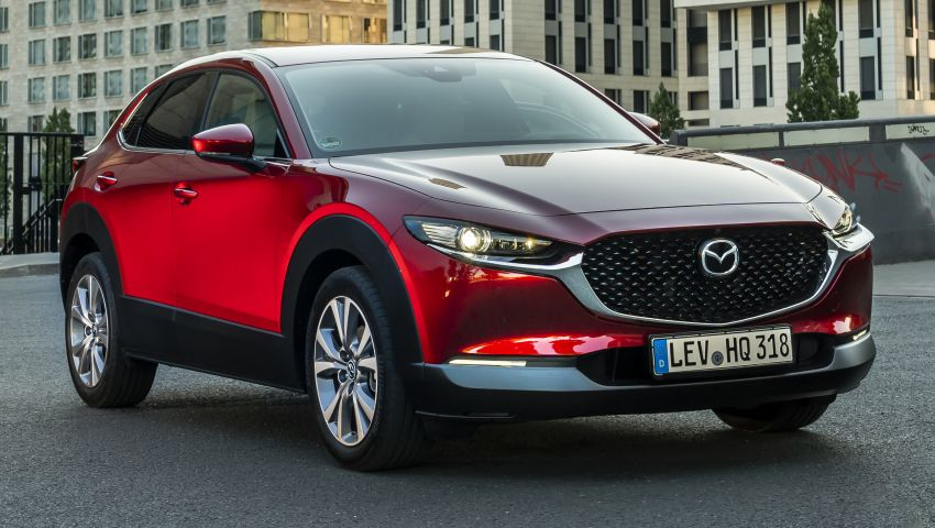 Mazda CX-30 SUV – European specifications detailed Image #986295