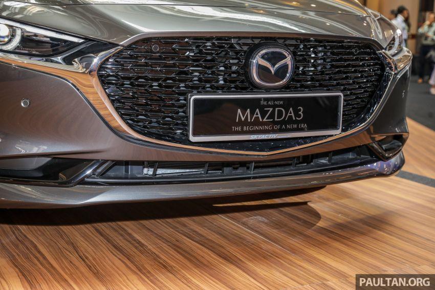 Mazda 3 2019 dilancarkan di Malaysia – sedan dan hatchback, 3 varian, harga dari RM140k-RM160k Image #987328
