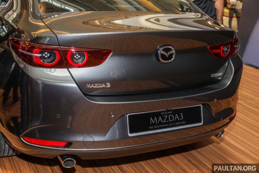 Mazda 3 2019 dilancarkan di Malaysia – sedan dan hatchback, 3 varian, harga dari RM140k-RM160k Image #987338