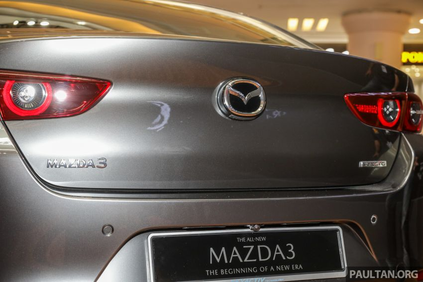 Mazda 3 2019 dilancarkan di Malaysia – sedan dan hatchback, 3 varian, harga dari RM140k-RM160k Image #987346