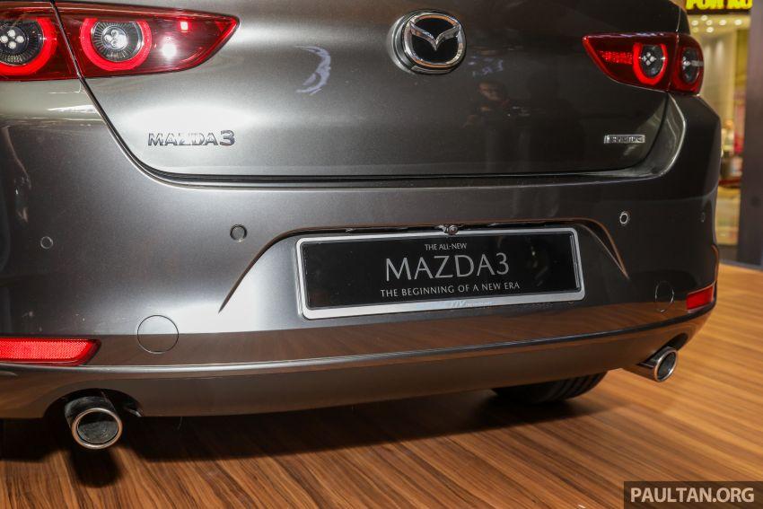 Mazda 3 2019 dilancarkan di Malaysia – sedan dan hatchback, 3 varian, harga dari RM140k-RM160k Image #987348
