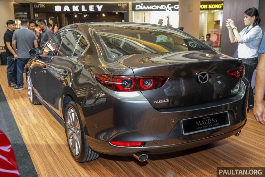 Mazda 3 2019 dilancarkan di Malaysia – sedan dan hatchback, 3 varian, harga dari RM140k-RM160k Image #987315