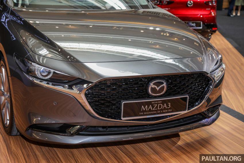 Mazda 3 2019 dilancarkan di Malaysia – sedan dan hatchback, 3 varian, harga dari RM140k-RM160k Image #987323